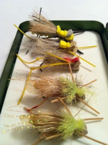 Foam Hoppers are proven troutslayers in late summer and fall.