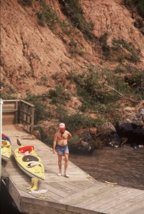 Many out-of-the-way places can be paddled on the Rio Grande River in New Mexico.