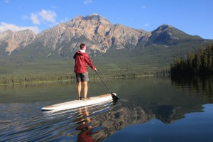 SUP Touring the Canadian Rockies - bucket list worthy!